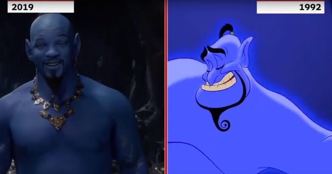 Aladdin - nyt vertailussa alkuperäinen Disney-animaatio ja tuleva live action -leffa