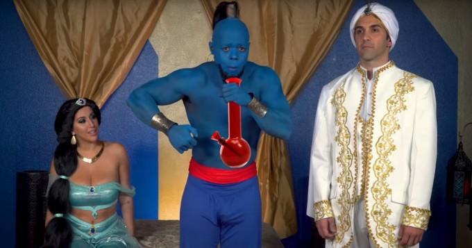 Aladdin sai aikuisviihdeparodiansa - tältä näyttää Aladdick