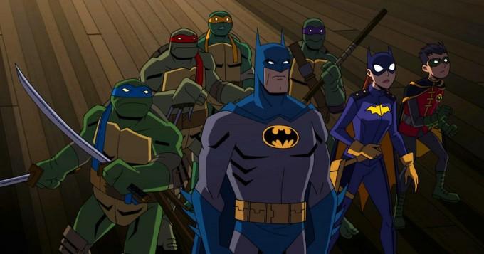 Batman ja Teenage Mutant Ninja Turtles yhdistävät voimansa animaatioelokuvassa