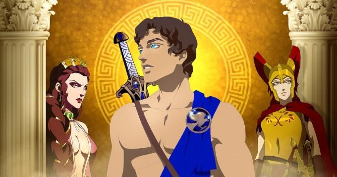 Netflix nyt: uusi aikuisten animaatiosarja Blood of Zeus alkoi
