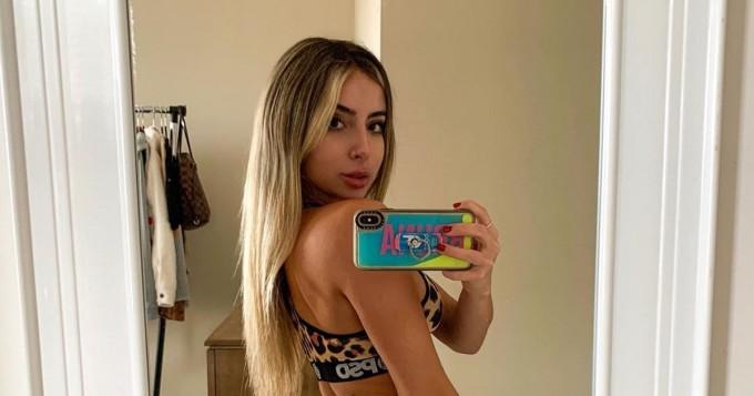 Mitä peppukuvia! Brassihottis Bruna Rangel Lima on Instagram-helmi