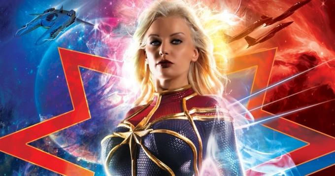 Huh! Captain Marvel sai oman aikuisviihdeparodian - katso traileri