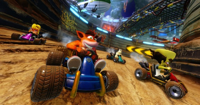 Crash Bandicoot -kaahailua uusiksi - tältä näyttää Crash Team Racing Nitro-Fueled
