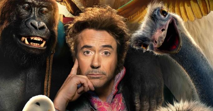 Eläintohtori Dolittle -suomitraileri kehissä: Robert Downey Jr., Selena Gomez, Tom Holland, Rami Malek...