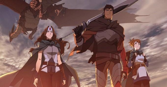 Dota 2 -videopelin pohjalta tehdystä tv-sarjasta traileri - Netflix aloittaa DOTA: Dragon´s Blood -sarjan 25.3.
