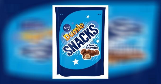 Uudenlaiset, Dumle-vaahtorakeet kauppoihin: Dumle Snacks Choco Chewies