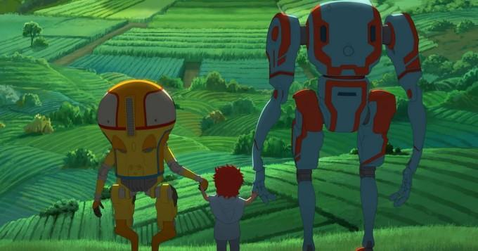 Netflix tarjoaa yksinoikeudella anime-elokuvan Eden - robotit luulivat, ettei ihmisiä enää ole