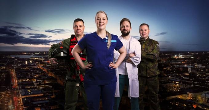 Yle Areena ja TV1: Elossa 24h jatkuu 28.3. - kuvattu poikkeusoloissa