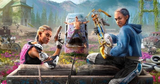 Far Cry New Dawn julki tänään - FPS-peli 17 vuotta maailmanlaajuisen ydinkatastrofin jälkeen