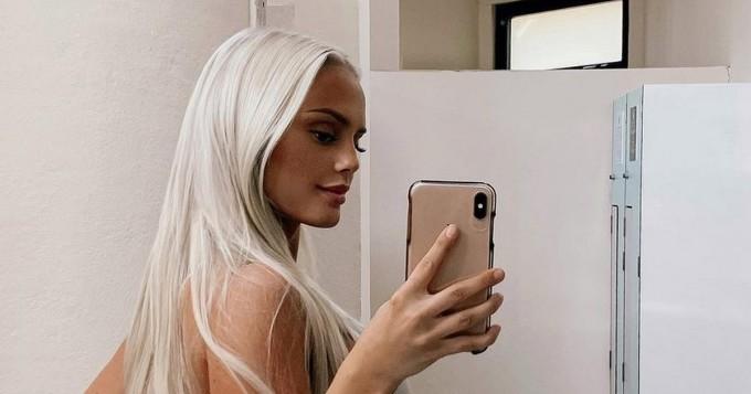 Ruotsalainen Instagram-pylly huumaa! Filippa Fransson, 22, saavuttaa pian puoli miljoonaa seuraajaa