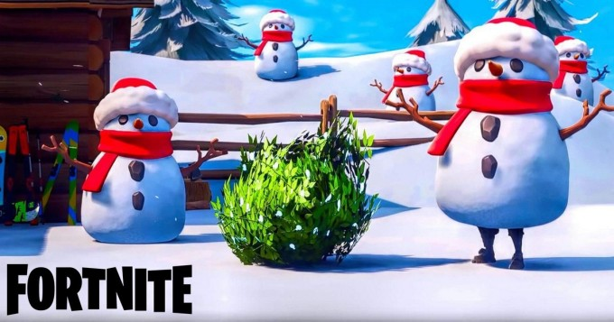 Fortnite toi taas uutta: Sneaky Snowman ja The Block - Omega Pyramid