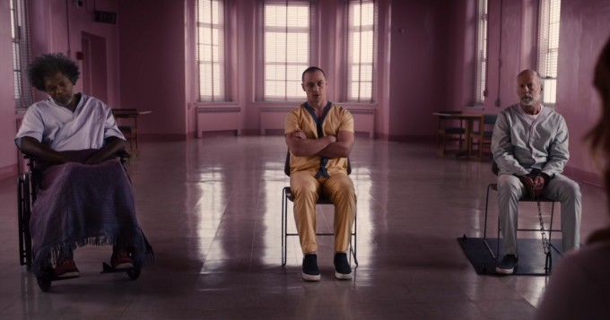 Tänään leffateattereissa Glass - M. Night Shyamalan yhdistää elokuvansa Unbreakable ja Split