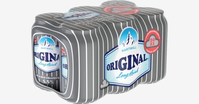 Hartwall lanseeraa uuden lonkeron: Original Long Drink Gin & Red Grapefruit