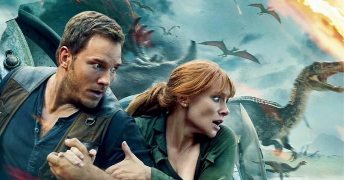 Netflix nyt: Jurassic World: Kaatunut valtakunta tähtinään Chris Pratt ja Bryce Dallas Howard