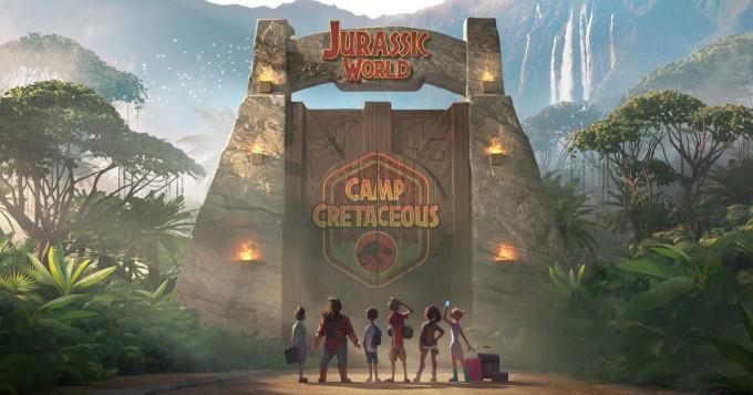Netflix: Jurassic Park -sarja Jurassic World: Liitukauden leiri alkoi