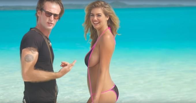Tämä Kate Upton -video on kaikista katsotuin Sport Illustrated Swimsuit -pätkä - eikä ihme