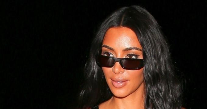 Mitkä muodot! Kim Kardashian käänsi jälleen päät