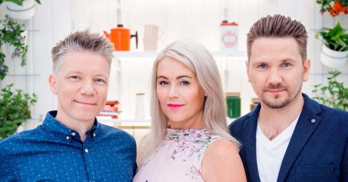 Koko Suomi leipoo jatkuu MTV3-kanavalla 11.11. - Anne Kukkohovi jatkaa juontajana