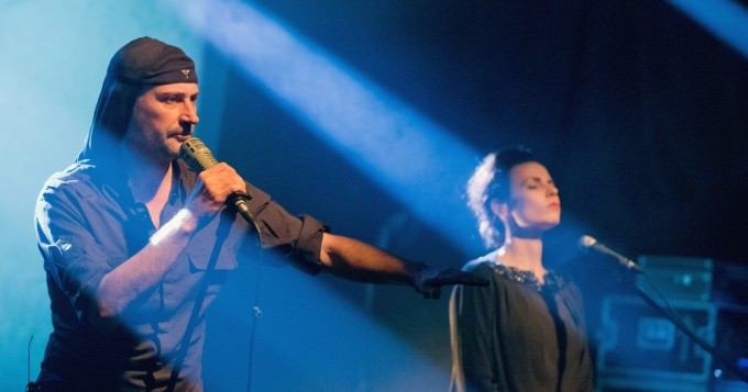 Laibach saapuu keikalle Suomeen