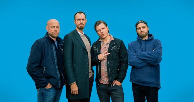 Kotimainen komedisarja Modernit miehet saa jatkoa - Yle Areena julkaisee toisen tuotantokauden maaliskuussa