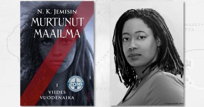 N. K. Jemisinin Murtunut maailma -fantasiatrilogia kertoo ympäristökatastrofien kurittamasta armottomasta maailmasta