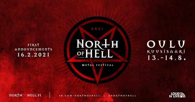 North Of Hell -metallifestivaali julkaisi ensimmäiset esiintyjänsä: mm. Opeth, Hypocrisy, Cult of Luna ja Leprous