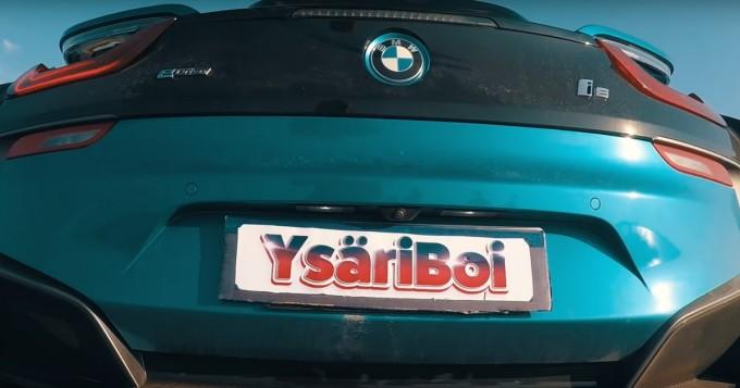 """Oku Luukkaisen YsäriBoi sai musavideonsa! - BMW i8 jännitti: """"Jos mä sen mällään..."""""""