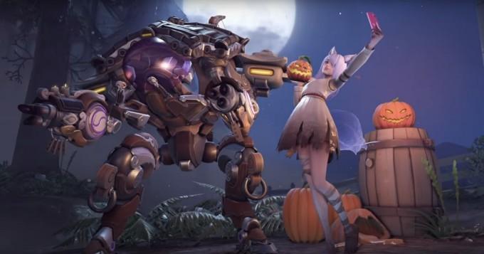 Overwatch aloitti halloween-juhlinnan