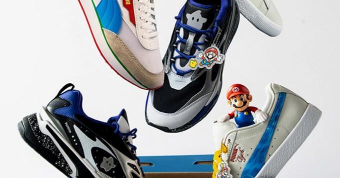 Puma lanseeraa uusia Super Mario -lenkkareita - mukana myös NES-teema