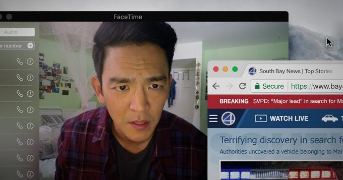 Viaplay nyt: persoonallinen trilleri Searching esitetään älypuhelimien ja tietokoneiden näytöiltä