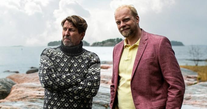 Martti Suosalo ja Ville Myllyrinne tähdittävät Sieniretki-komediaa - kuvaukset alkoivat Turussa