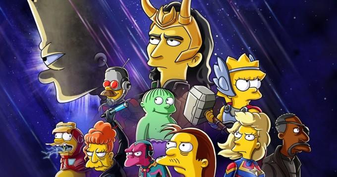 Marvel vs Simpsonit - Disney+ esittää tänään lyhytelokuvan The Good, The Bart, and The Loki