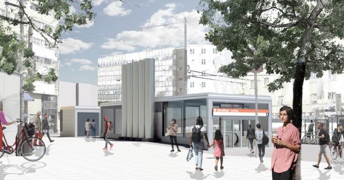 Sörnäisten metroasemalla alkaa tänään lippuhallin perusparannus