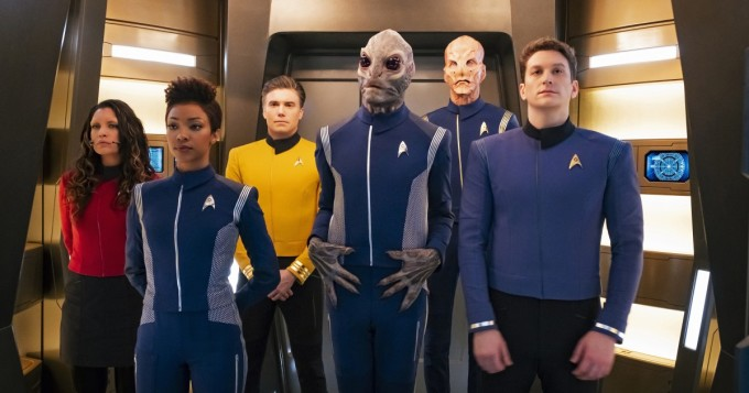 Netflix nyt - Star Trek: Discovery -sarjan uudet jaksot alkoivat