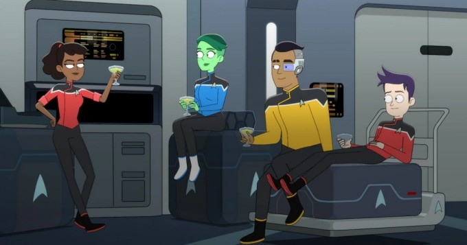 Amazon Prime Video jatkaa Star Trek: Lower Decks -sarjaa 13. elokuuta