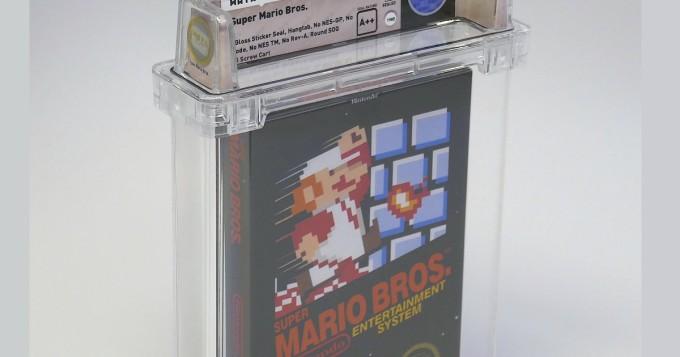 Virheetön Super Mario Bros. -pelin NES-kasetti myytiin yli 100 000 dollarilla