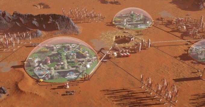 Epic Games Store tarjoaa nyt ilmaiseksi rakentelusimulaation Surviving Mars