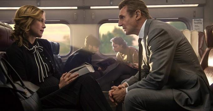 Netflix nyt: Liam Neeson ja Vera Farmiga tähdittävät toimintatrilleriä The Commuter