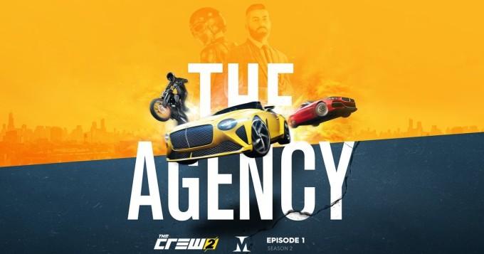 The Crew 2 -ajopeli laajenee agenttitarinaksi toisen pelikauden ensimmäisessä osassa The Agency