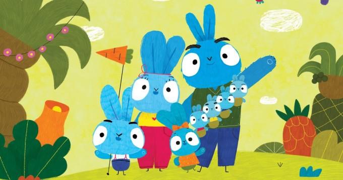 Pikku Kakkonen aloittaa huomenna uuden animaatiosarjan Urheat pupuset