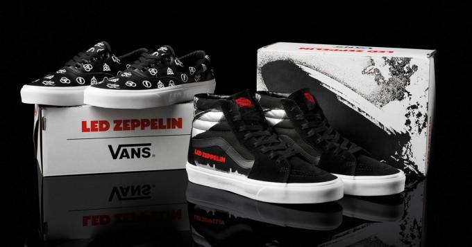 Vans tuo kauppoihin Led Zeppelin -kengät