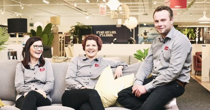 Sisustajan huonekalukauppa Veke avaa uuden myymälän Tampereen Lielahdessa