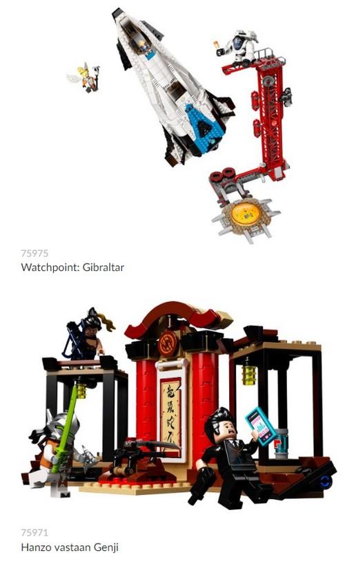 Overwatch - Lego