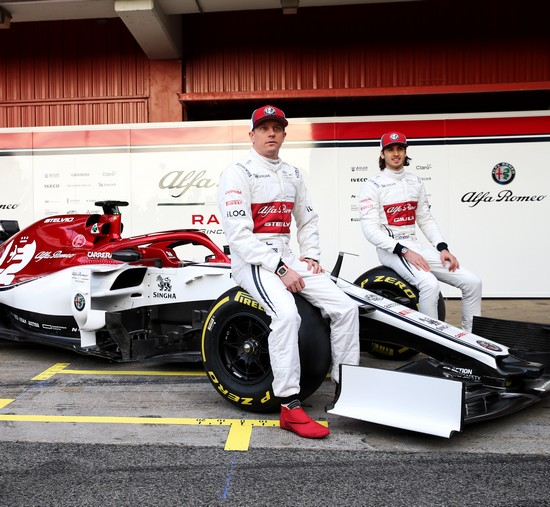 Kimi Räikkönen - Antonio Giovinazzi