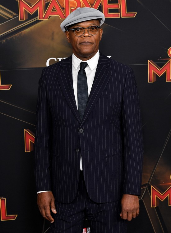 Captain Marvel - Samuel L. Jackson