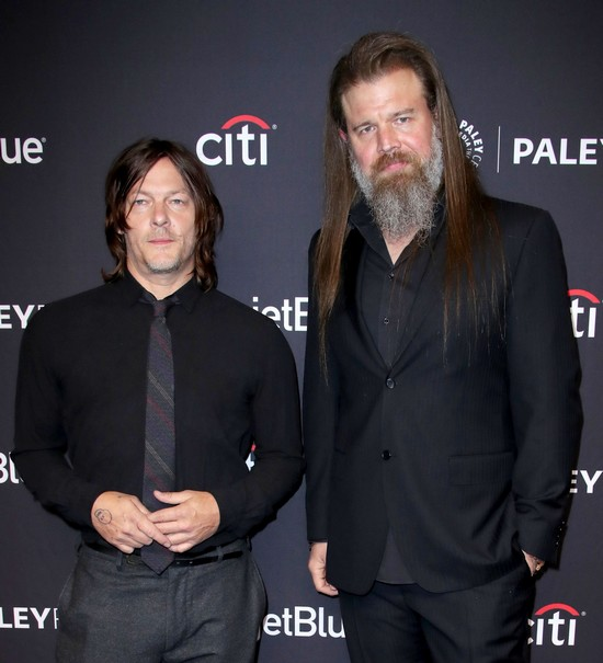 Norman Reedus - Ryan Hurst - The Walking Dead