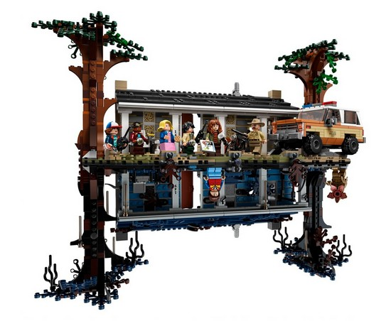 The LEGO Stranger Things: The Upside Down