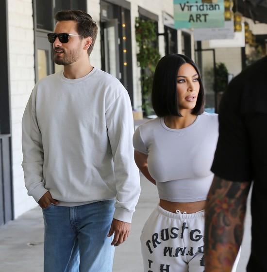 Kim Kardashian - Scott Disick