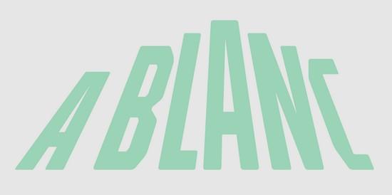 A Blanc -logo