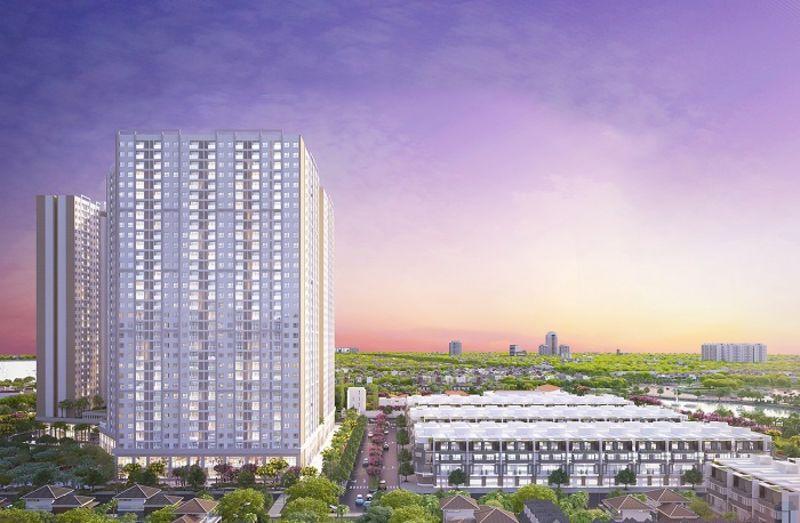 Nhà phố City Gate 3 tại Võ Văn Kiệt - Quận 8